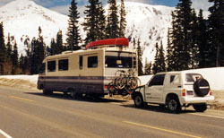 My first RV- a used 1989 Pace Arrow.