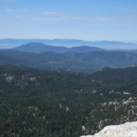 View towards Idyllwild from Suicide Rock