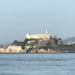 View of Alcatraz from  Fisherman's Wharf